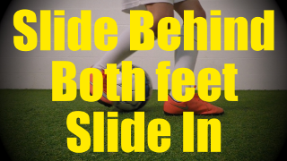 Slide Behind Both Feet Slide In - Static Ball Control Drills for U10-U11