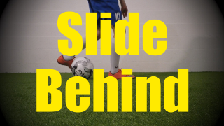 Slide Behind - Static Ball Control Drills for U10-U11