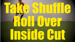 Take Shuffle Roll Over Inside Cut - Static Ball Control Drills for U10-U11