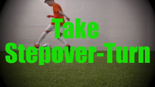 Take Stepover-Turn - Static Ball Control Drills for U8-U9