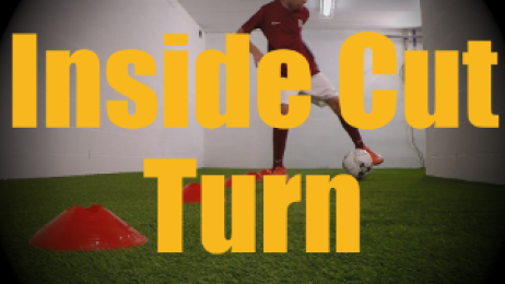 Inside Cut Turn - Cones Dribbling Drills for U12-U13