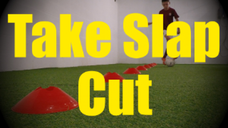 Take Slap Cut - Cones Dribbling Drills for U10-U11