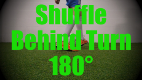 Shuffle Behind Turn 180° - Fast Footwork Drills for U8-U9