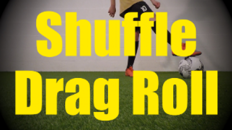 Shuffle Drag Roll - Fast Footwork Drills for U10-U11