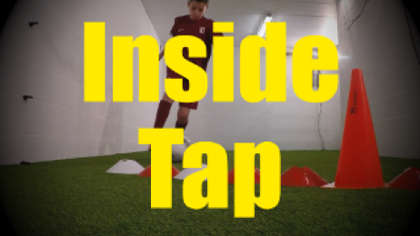 Inside Tap - Crossing - Change of Direction - 1v1 Moves for U10-U11
