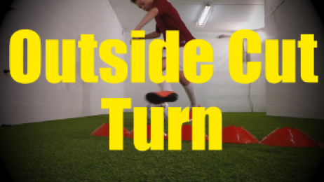Outside Cut Turn - Crossing - Change of Direction - 1v1 Moves for U10-U11