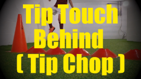 Tip Touch Behind (Tip Chop) - Crossing - Change of Direction - 1v1 Moves for U10-U11