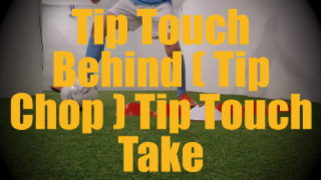 Tip Touch Behind (Tip Chop) Tip Touch Take (Laudrup / La Croqueta var.) - Feints and Fakes - 1v1 Moves for U12-U13