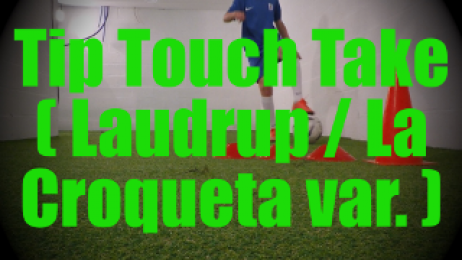 Tip Touch Take (Laudrup / La Croqueta variation) - Feints and Fakes - 1v1 Moves for U8-U9