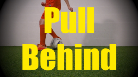 Pull Behind - Static Ball Control Drills for U10-U11