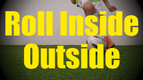 Roll Inside Outside - Static Ball Control Drills for U10-U11
