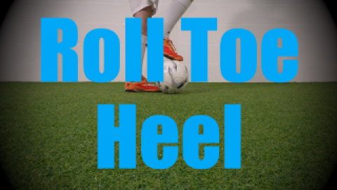 Roll Toe Heel - Static Ball Control Drills for U6-U7