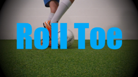 Roll Toe - Static Ball Control Drills for U6-U7
