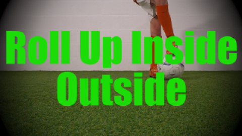 Roll Up Inside Outside - Static Ball Control Drills for U8-U9