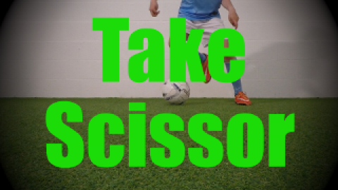 Take Scissor - Static Ball Control Drills for U8-U9