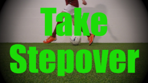 Take Stepover - Static Ball Control Drills for U8-U9