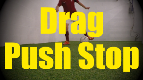 Drag Push Stop - Dynamic Ball Mastery Drills for U10-U11