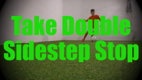 Take Double Sidestep Stop - Dynamic Ball Mastery Drills for U8-U9