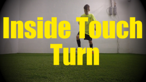 Inside Touch Turn - Wall Work Drills for U10-U11