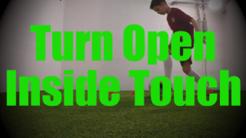 Turn Open Inside Touch - Wall Work Drills for U8-U9