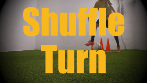 Shuffle Turn - 1v1 Moves - Change of Direction - Quick Turns for U12-U13