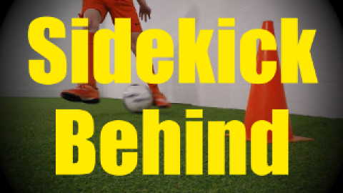 Sidekick Behind (Ronaldo Chop) - Feints and Fakes - 1v1 Moves for U10-U11