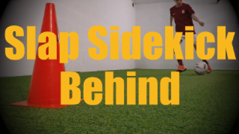 Slap Sidekick Behind (Ronaldo Chop var.) - Feints and Fakes - 1v1 Moves for U12-U13