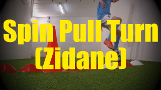 Pull Spin Turn (Zidane) - Crossing - Change of Direction - 1v1 Moves for U10-U11