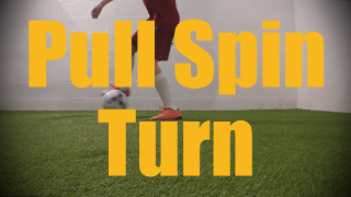 Pull Spin Turn - 1v1 Moves - Change of Direction - Quick Turns for U12-U13