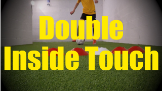 Double Inside Touch - Feints and Fakes - 1v1 Moves for U10-U11
