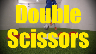 Double Scissors - Feints and Fakes - 1v1 Moves for U10-U11