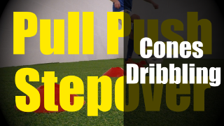 Playlist of Cones Dribbling Drills - Ball Control