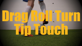 Drag Roll Turn Tip Touch - Static Ball Control Drills for U12-U13