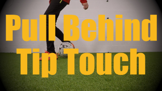 Pull Behind Tip Touch - Static Ball Control Drills for U12-U13